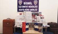 Diyarbakır'da 2 Bin 83 Paket Kaçak Sigara Ele Geçirildi