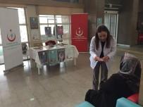 SAĞLIKLI HAYAT - Hastanede Bilgilendirme Standı Açıldı