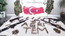 Husumetli İki Gruptan Çok Sayıda Silah Çıktı