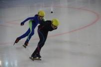 BUZ PATENİ - Sürat Pateni Türkiye Şampiyonası Erzurum'da Başladı
