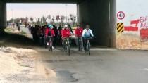SU SPORLARI - Türk Ve Suriyeli Öğrenciler, Bisiklet Etkinliğinde Buluştu