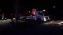 Uşak'ta Otomobil Gölete Devrildi Açıklaması 1 Kişi Kayıp