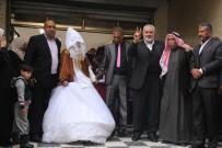 HAMAS - Evi Bombalanınca Hamas Liderinin Evinden Gelin Çıktı