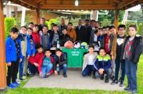 AHMET YESEVI - Geleceğin Hafızlarına Spor Malzemesi Desteği