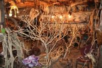 DEKORASYON - Ağaç Köklerini Farklı Objelere Dönüştürüyor