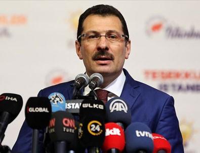 AK Parti Genel Başkan Yardımcısı Ali İhsan Yılmaz: 38 ilçede oyların tümünün sayımı için YSK'ya başvuracağız