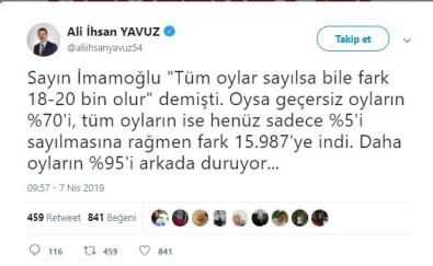 AK Parti'den YSK'ya başvuru