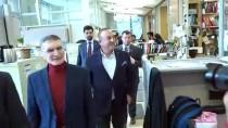 AZİZ SANCAR - Bakan Çavuşoğlu, Aziz Sancar İle Görüştü