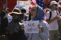 POLITIKA - Çin'in Uygur Türklerine Zulmü Hollywood'da Protesto Edildi