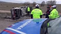 Düğün Konvoyunda Otomobil Takla Attı Açıklaması 1 Ölü, 3 Yaralı
