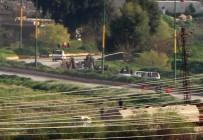 SINIR KAPISI - Kamışlı'da Teröristlerin Zırhlı Aracı Görüntülendi