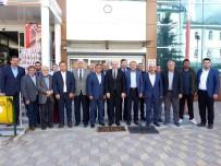 ARIF TEKE - Ali Çetinbaş'tan Başkan Arif Teke'ye Taziye Ziyareti