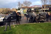 Diyarbakır'da İki Zırhlı Araç Çarpıştı Açıklaması 1 Polis Yaralı