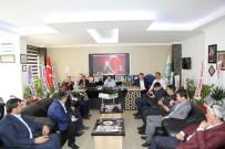 Kaymakam Nasır'dan Başkan Özkan'a Hayırlı Olsun Ziyareti