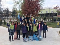 YENIDOĞAN - Öğrencilerden Park Temizliği