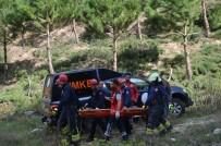 PAMUKKALE - Ormanlık Alanda Korkunç Olay Açıklaması Arkadaşıyla Konuşurken...
