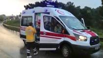 Sancaktepe'de Trafik Kazası Açıklaması 4 Yaralı
