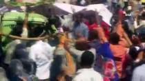 BIBER GAZı - Sudan'da Protestolar Bakanlık Önünde Sürüyor