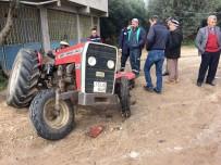 ELEKTRİK DİREĞİ - Traktöre Çekici Çarptı