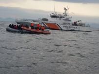ERITRE - Yunanistan'a Kaçmak İsteyen 41 Göçmen Böyle Yakalandı