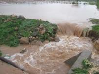 TARIM ARAZİSİ - Araban'da Sağanak Yağış Ve Dolu Tarım Arazilerini Vurdu