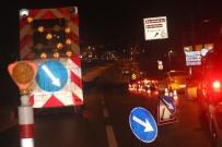 TRAFİK YOĞUNLUĞU - Atatürk Köprüsü Trafiğe Kapatıldı
