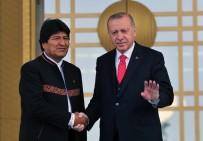 BOLIVYA - Bolivya Cumhurbaşkanı Cumhurbaşkanlığı Külliyesi'nde