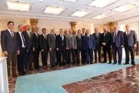 İl Genel Meclisinden İlk Ziyaret Vali Taşbilek'e