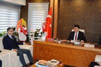 Kaymakamdan, Belediye Başkanı Emin Ersoy'a Hayırlı Olsun Ziyareti