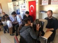 Midyat'ta Gönüllü Hekimler Öğrencilere Diş Ve Göz Taraması Yaptı