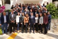 BODRUM BELEDİYESİ - Muhtarlardan Başkan Aras'a Hayırlı Olsun Ziyareti