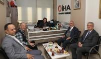 OBJEKTİF - Rektör Prof. Dr. Çomaklı'dan İHA'ya Ziyaret