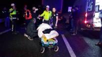 TEM'de Feci Kaza 5 Ölü 2'Si Çocuk 6 Yaralı