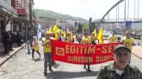 Giresun'da 1 Mayıs Kutlaması