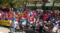 Isparta'da 1 Mayıs Emek Ve Dayanışma Günü