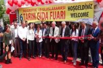Mardin'de MAGROTEX 19 Uluslararası 6. Gıda Ve Tarım Fuarı Açıldı