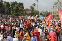 DAVUL ZURNA - Mersin'de 1 Mayıs Coşkusu