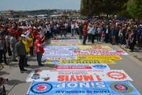 Sinop'ta Coşkulu 1 Mayıs Kutlaması