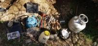 SPOR AYAKKABI - Şırnak'ta Etkisiz Hale Getirilen Teröristlere Ait Mühimmatlar Ele Geçirildi