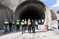 ZIGANA - Yeni Zigana Tünelinde Yüzde 60 Seviyesine Yaklaşıldı