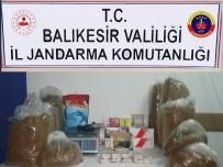 Balya'da Kaçak Tütün Operasyonu