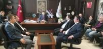 CHP Genel Başkan Yardımcısı Erkek'ten Çan Belediye Başkanı Öz'e Tebrik Ziyareti