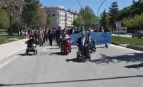 Elazığ'da Engelliler Farkındalık İçin Yürüdü, Halk Oyunları Oynadı
