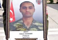 PİYADE ALBAY - Şehit Asker Törenle Memleketine Uğurlandı