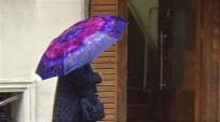Tekirdağ'da Gök Gürültülü Sağanak Yağış