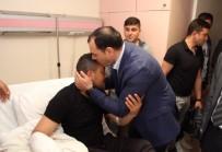 OKTAY KALDıRıM - Vali Kaldırım, Yaralı Mehmetçikleri Ziyaret Etti