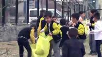 Yüksekova'da Öğrencilerden Çevre Temizliği