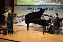 Düzce Üniversitesi'nde Flüt-Piyano Resitali Gerçekleştirildi