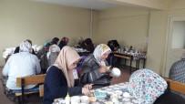 Hisarcık'ta Çini İşlemeciliği Kursu Açıldı