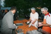 İş Adamları Deprem Bölgesinde Bin 500 Kişilik İftar Yemeği Verdi